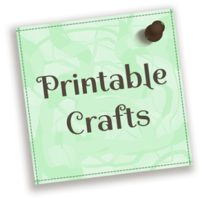Jizette printable crafts