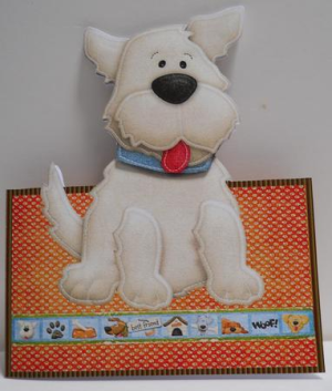 Dog Shaped Cards