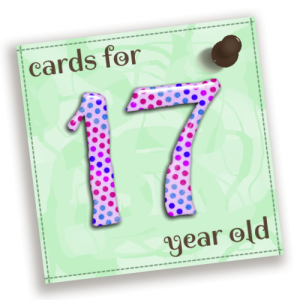 Birthday Cards For 17 Year Old
